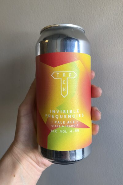 Invisible Frequencies Pale Ale by Track Brewing Company.