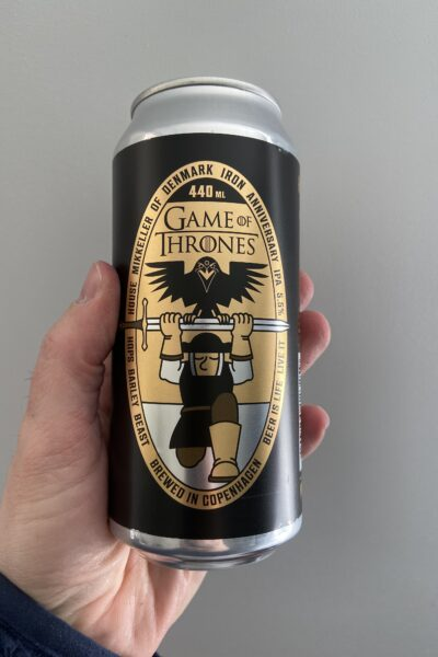 Game of Thrones Iron Anniversary IPA by Mikkeller.