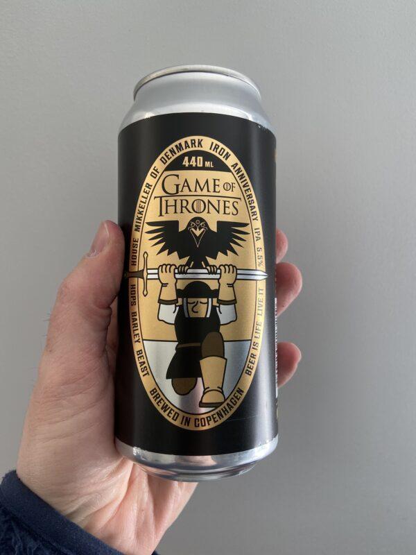 Game of Thrones Iron Anniversary IPA by Mikkeller.