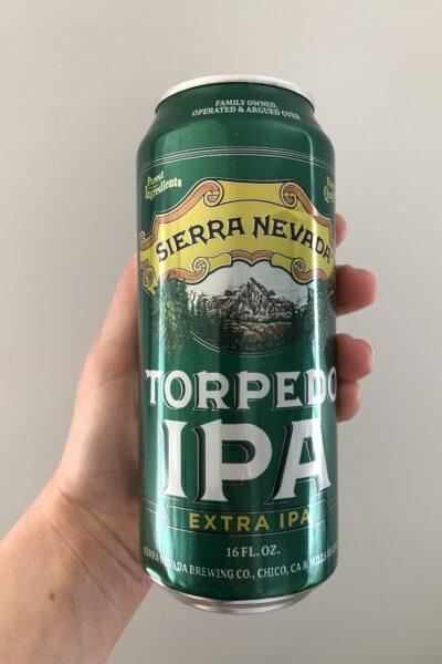 Torpedo Extra IPA by Sierra Nevada.