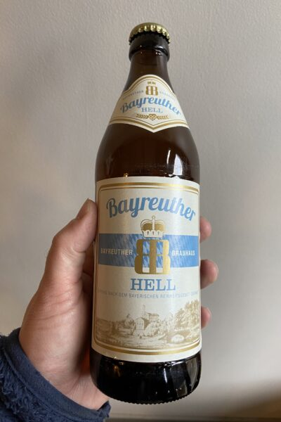 Bayreuther Hell by Bayreuther Bierbrauerei.