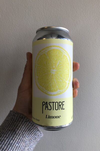 Limone Sour by Pastore Brewing and Blending.