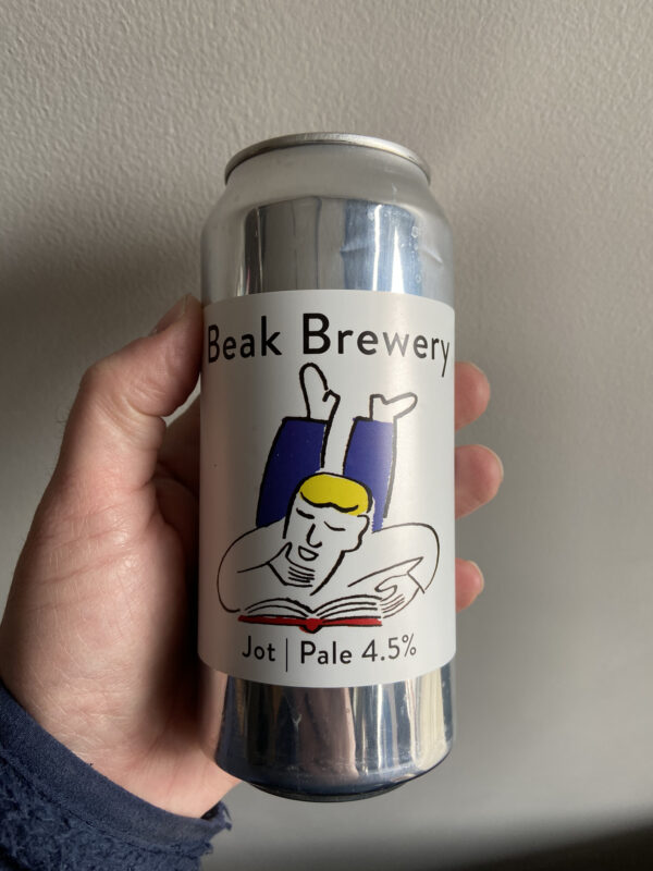 Jot Pale Ale by The Beak Brewery.