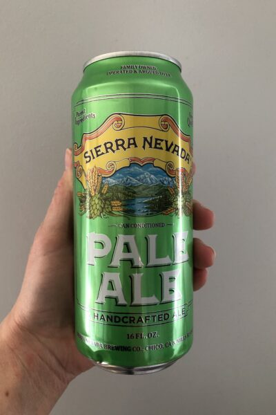 Pale Ale by Sierra Nevada.