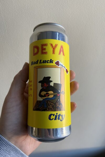 Bad Luck City by Deya Brewing Company.