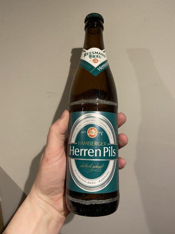 Keesmann Herren Pils by Keesmann Bräu.