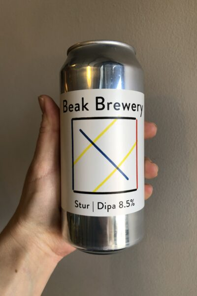 Stur Imperial IPA by The Beak Brewery.