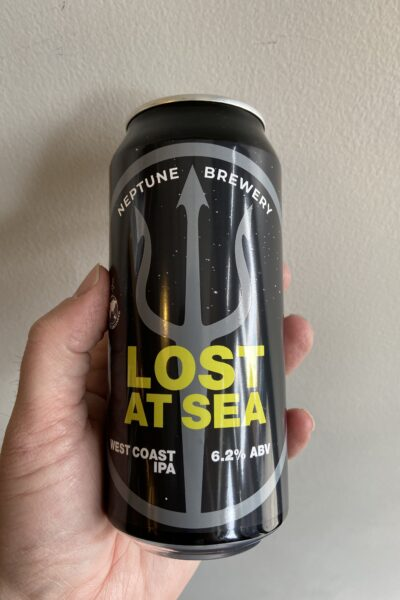 Lost at Sea American IPA by Neptune Brewery in collaboration with Lost and Grounded.