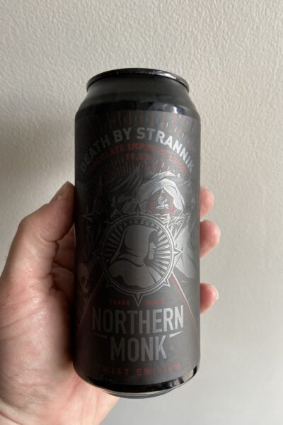 Death By Strannik Chocolate Imperial Stout by Northern Monk.