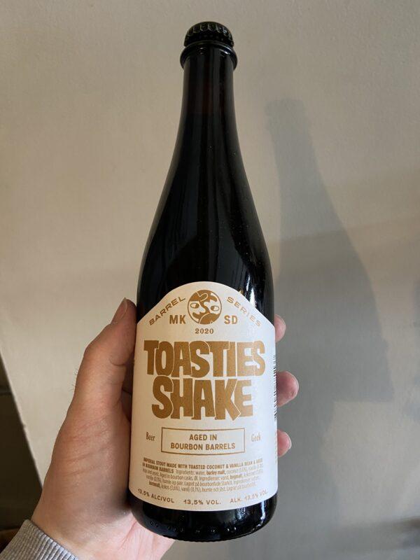 Toasties Shake Imperial Stout by Mikkeller San Diego.