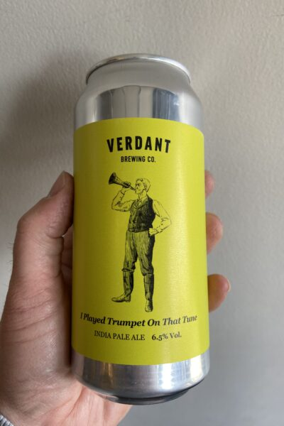 I Played Trumpet On That Tune New England IPA by Verdant Brewing Company.