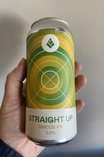 Straight Up Simcoe IPA by Drop Project.