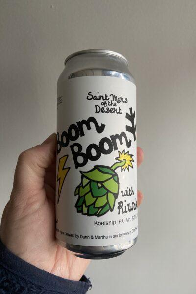 Boom Boom IPA by Saint Mars of the Desert.