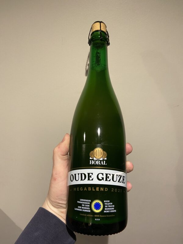 HORAL's Oude Geuze Mega Blend (2021) by Brouwerij Boon.