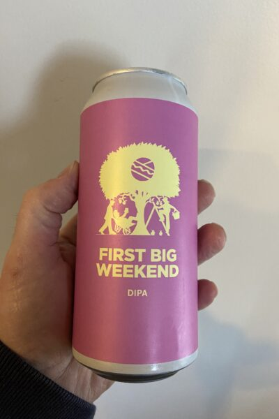 First Big Weekend Imperial IPA by Pomona Island Brew Co.