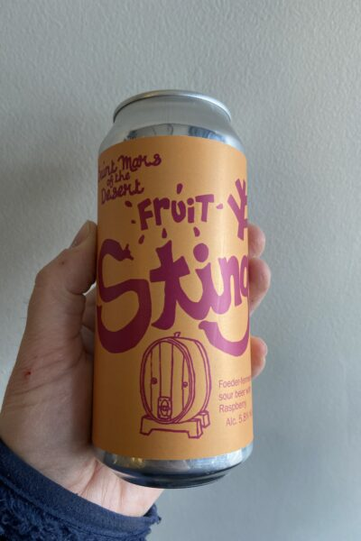 Stingo Fruit Sour by Saint Mars of the Desert.