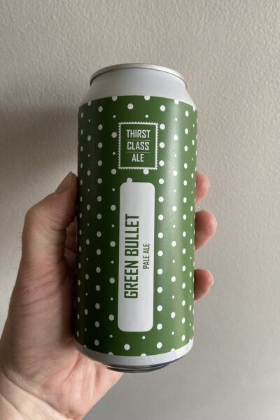 Green Bullet NZ Pale Ale by Thirst Class Ale.