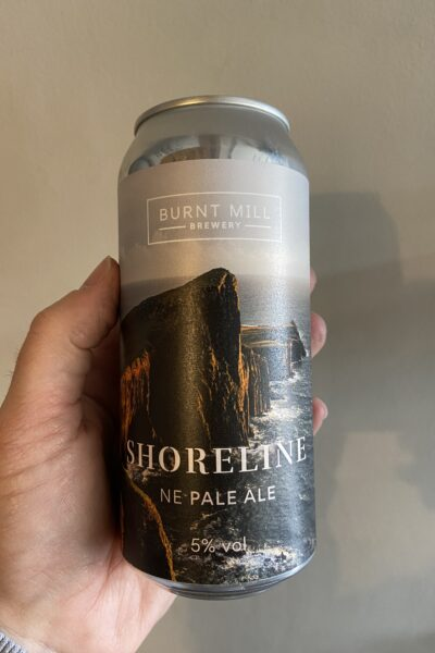 Shoreline New England Pale Ale by Burnt Mill.