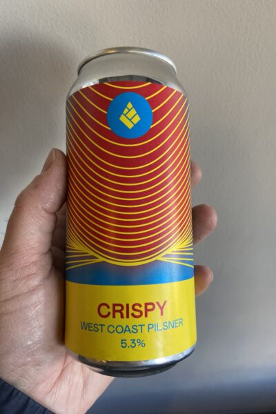Crispy West Coast PIlsner by Drop Project.