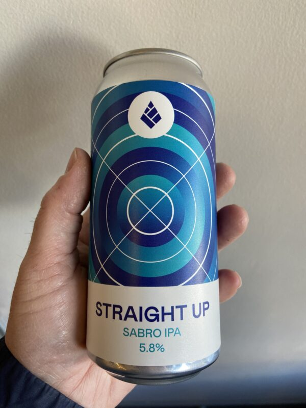 Straight Up Sabro IPA by Drop Project.