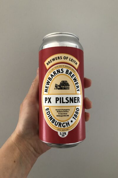 PX Pilsner by Newbarns Brewery.