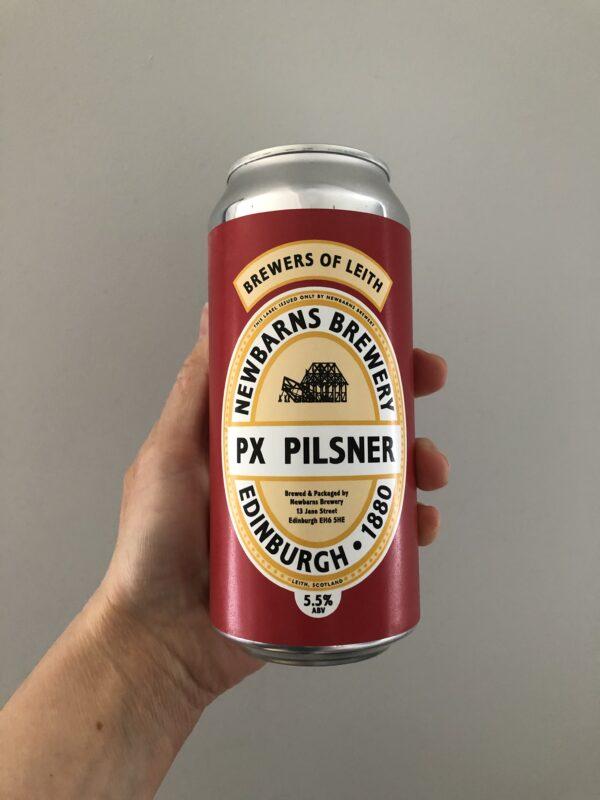 PX Pilsner by Newbarns Brewery.
