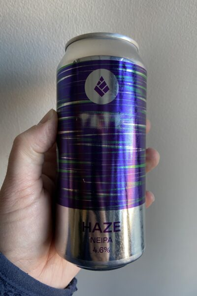 Haze New England IPA by Drop Project in collaboration with Tate.