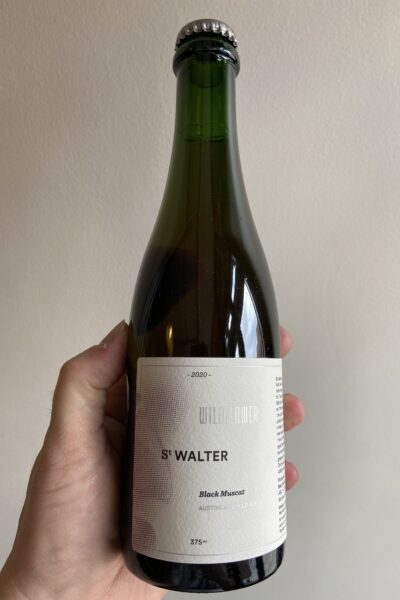 St Walter 2020 Black Muscat Australian Wild Ale by Wildflower Brewing and Blending.