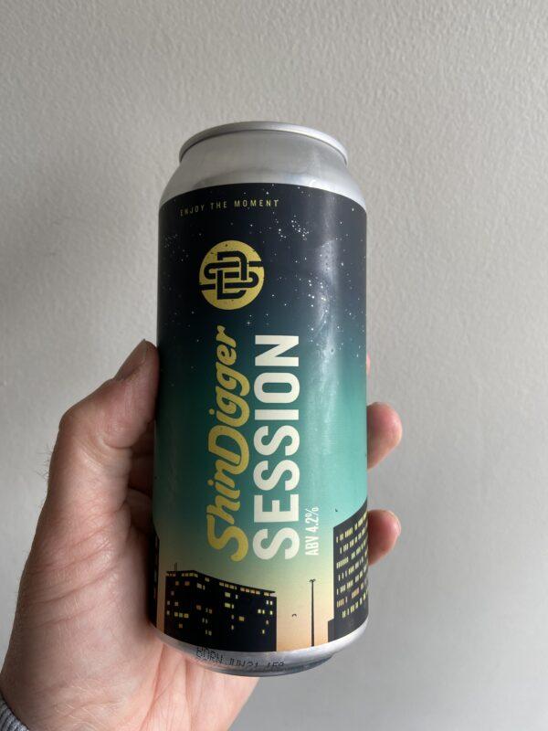 Session IPA by Shindigger Beer.