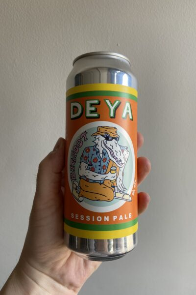 Bigfoot Session Pale Ale by Deya Brewing Company.
