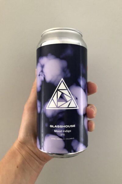 Mood Indigo IPA by Glasshouse Beer Co.