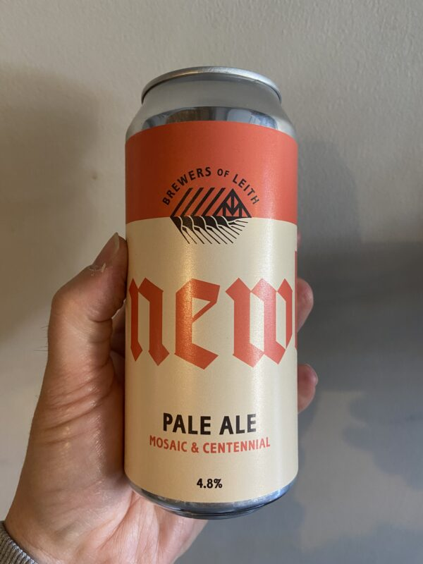 Pale Ale Mosaic and Centennial by Newbarns Brewery.