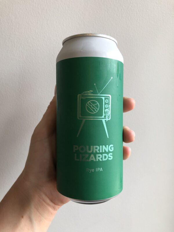 Pouring Lizards Rye IPA by Pomona Island x Deya Brewing Company.