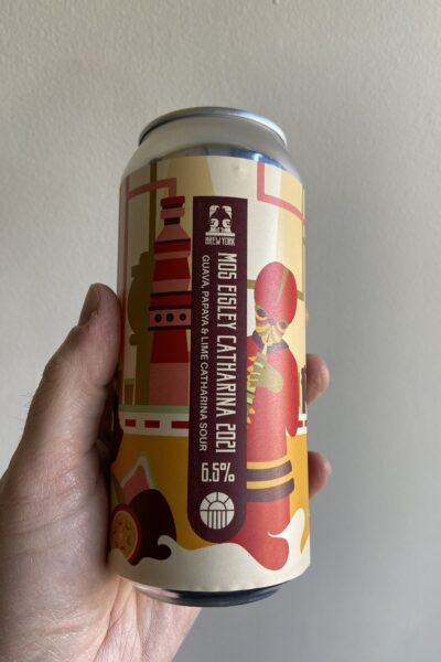 Mos Eisley Catherina 2021 Guave, Papaya amd lime Sour by Brew York.