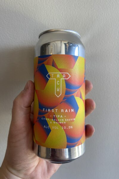 First rain TIPA by Track Brewing Company.