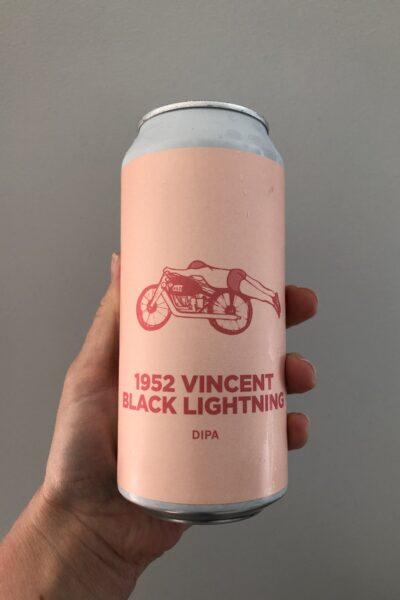 1952 Vincent Black Lightning DIPA by Pomona Island Brew Co.