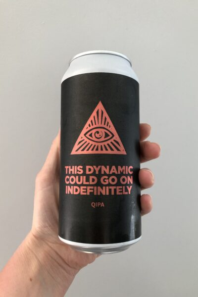 This Dynamic Could Go On Indefinitely Quadruple IPA by Pomona Island Brew Co.