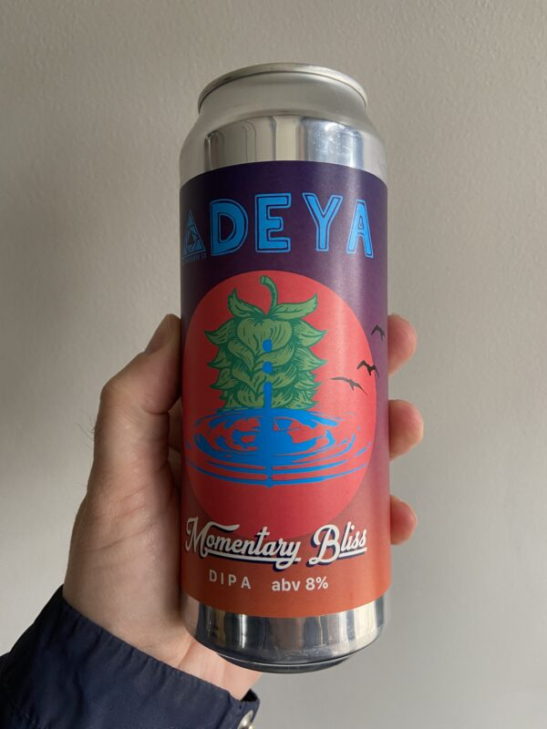 Momentary Bliss DIPA by Deya Brewing Company x Glasshouse.