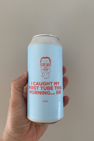 I Caught My First Tube This Morning...Sir Pale Ale by Pomona Island Brew Co.