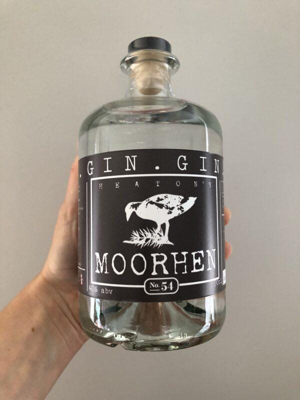 Heaton's Moorhen Original Gin 70cl.