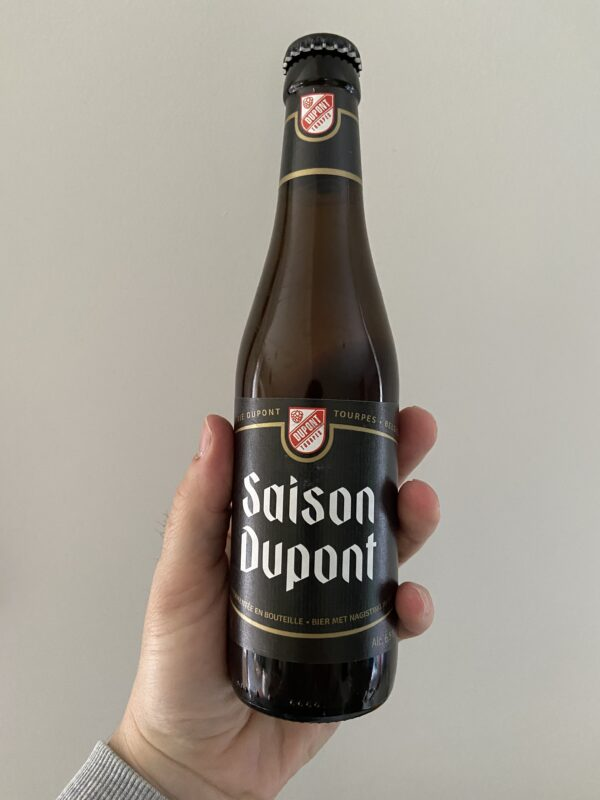 Saison Dupont by Brasserie Dupont.