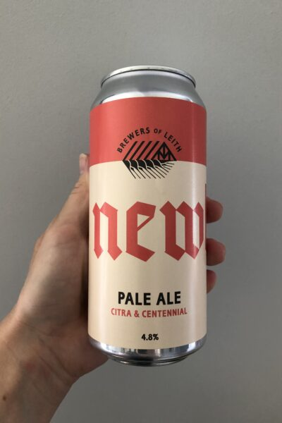Newbarns Pale Ale Citra and Centennial by Newbarns Brewery.