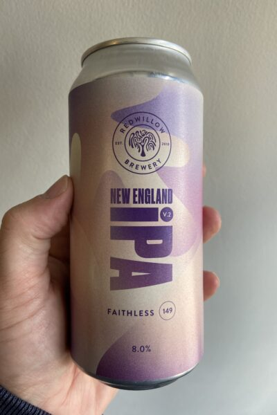 New England IPA V2 (F149) by RedWillow Brewery.