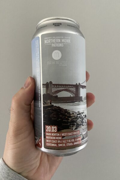 Patrons Project 20.03 // Mark Newton // West Coast Routes // West Coast IPA by Northern Monk.