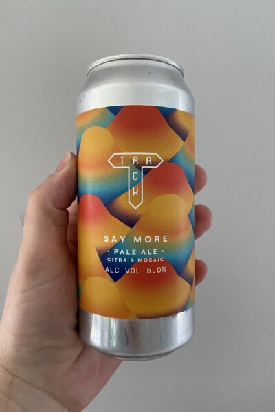 Say More Pale Ale by Track Brewing Company.