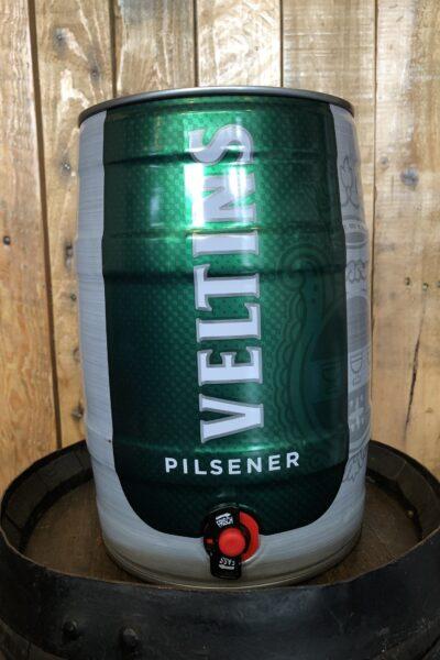 Veltins Pilsner 5 Litre (8.8 Pints) Mini-Keg