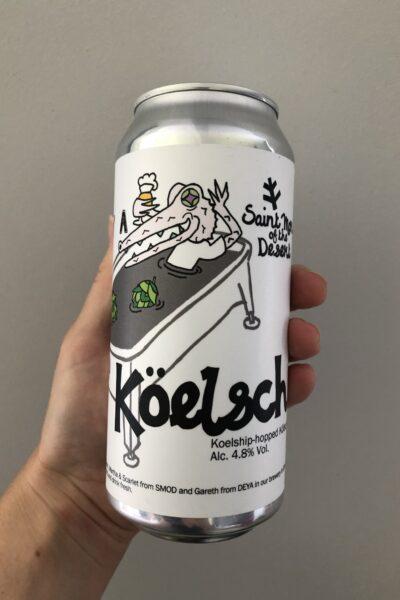 Köelsch Koelship -hopped Kölsch by Saint Mars of the Desert with Deya Brewing Company.