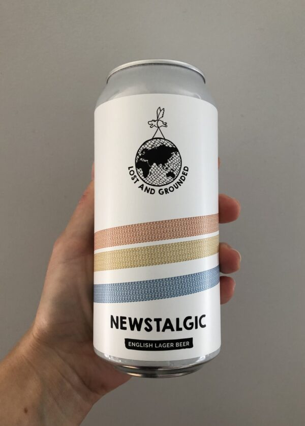 Newstalgic Lager by Lost and Grounded.