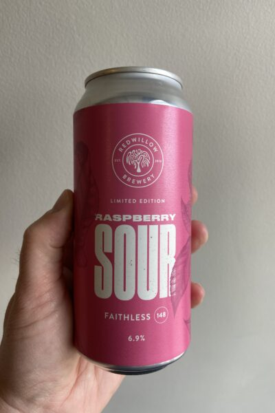 Raspberry Sour (F148) by RedWillow Brewery.