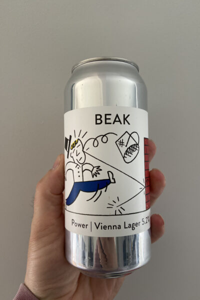 Power Vienna Lager by The Beak Brewery.